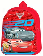 Cars Movie Light Up LED Backpack Kids Boys Nursery Travel School Bag