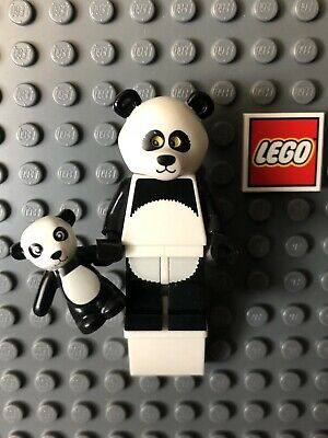 Lego Collectible Minifigure Panda Guy Lego Movie TLM015 Excellent Pre Owned
