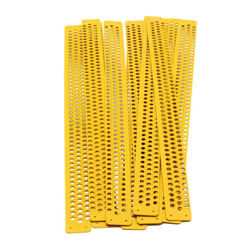 10pcs 39.5cm Bee Beehive Plastic Pollen Collector Traps Beekeeping Tool Quality