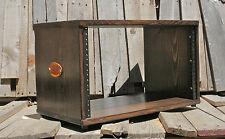 6U Desktop Studio Rack Cedar