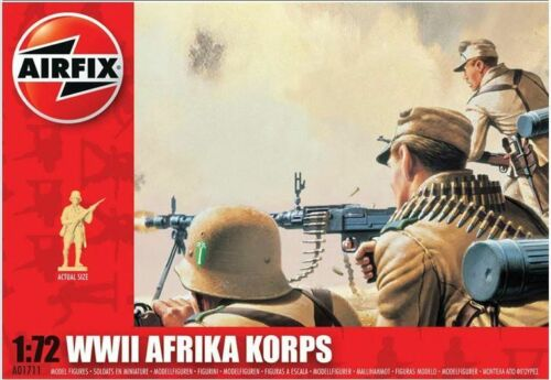 Airfix A01711-1//72 Deutsches Afrikakorps Neu