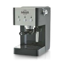 GAGGIA GRAN DELUXE | Manuale di Caffè Espresso Macchina 15 BAR, Nero e Argento