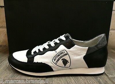 Automobili Lamborghini Mens Shoes Fashion Sneakers Trainers LAM22001, New In Box
