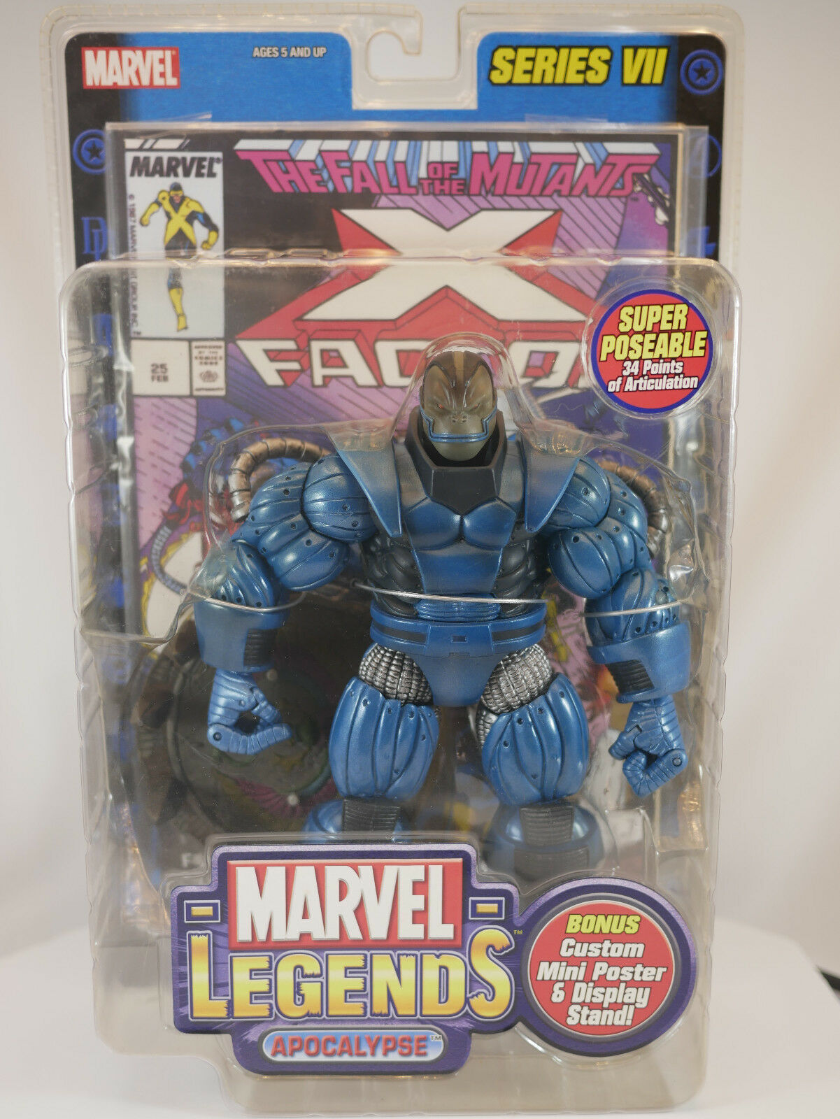 Marvel Legends Series 7 Apocalypse ToyBiz - NIP