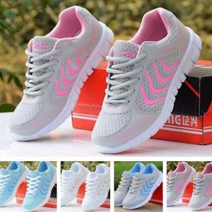 798682fc88d8 Details about Zapatillas Deportivas de Mujer Tenis para Mujer Moda Correr  Ejercicio Deporte