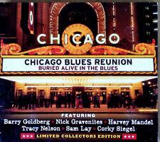 CHICAGO BLUES REUNION -BURIED ALIVE IN THE BLUES - CD + DVD - B.GOLDBERG, MANDEL