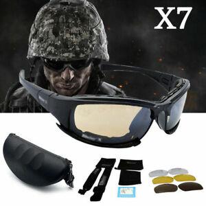 Daisy-x7-UVA-UVB-Tactical-Military-Style-Lunettes-Moto-Sonnenbrill-m0v8