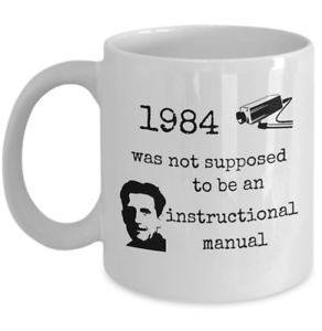 Book-themed-mug-1984-instruction-manual-Funny-George-Orwell-utopia-gift-cup