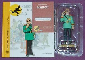 TINTIN Figurine Hergé officielle N°108 Général Tapioca