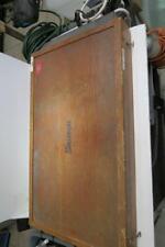Starrett 224 Micrometer 12 16 With Standards In Original Wood Case