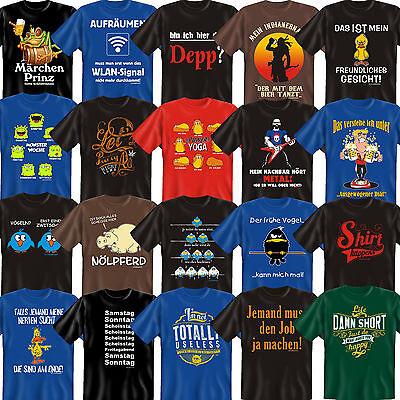 T-Shirt FunShirt coole lustige witzige Sprüche Geburtstag Geschenke Geschenkidee