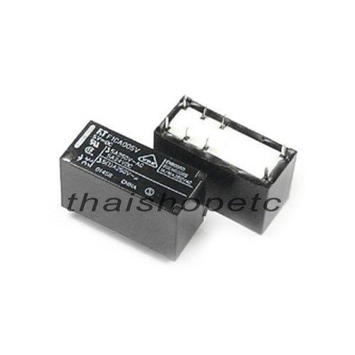 1 x Power Relay Coil 9VDC 9V DPDT Contact Rating 5A 240VAC 24VDC