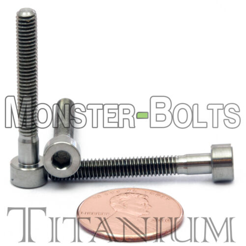 4mm x 0.70 x 30mm TITANIUM SOCKET HEAD CAP Screw DIN 912 Grade 5 Ti M4 Hex