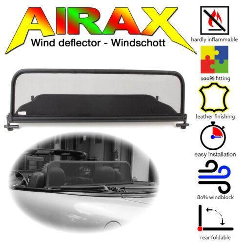 Airax deflector de viento viento deflector Chrysler Sebring-Stratus converible 1996-2007