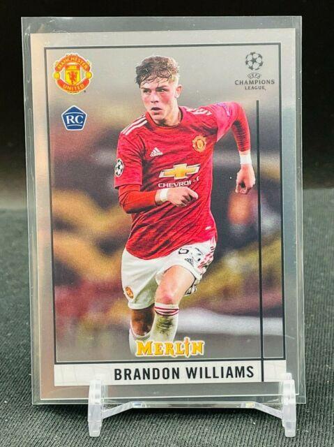 2020-21 Topps Chrome UEFA Merlin RC Brandon Williams BASE