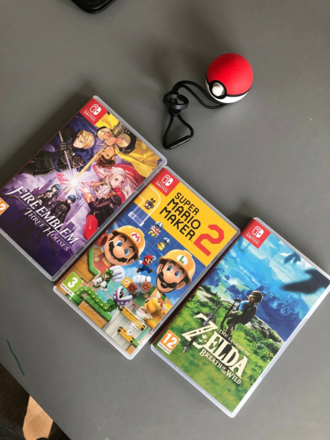 Switch spil, Nintendo Switch, action, Nintendo Switch…