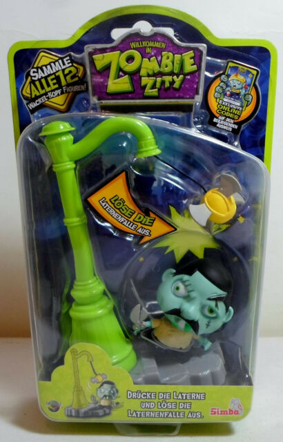 SIMBA ZOMBIE ZITY TRAP PACK DROP AND CHOP LAMP POST ROCKY SNIPS SEALED EUROPEAN
