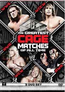 WWE-The-Greatest-Cage-Matches-Of-All-Time-3x-DVD-DEUTSCHE-VERKAUFSVERSION