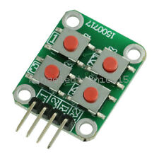 1pcs Matrix 4 Keyboard Board Module 4 Button Tactile Switch For Arduino K9