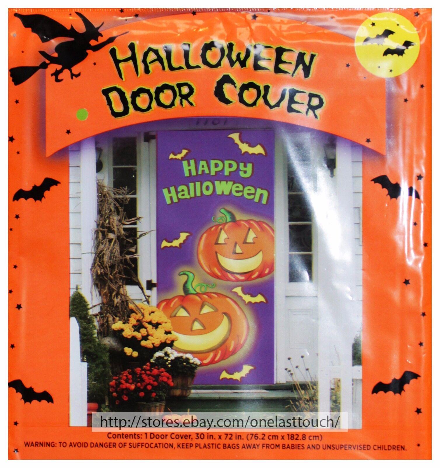 *YOU CHOOSE* DOLGENCORP* Decorations HALLOWEEN Decor DOOR+HANGING+LEAF BAGS New