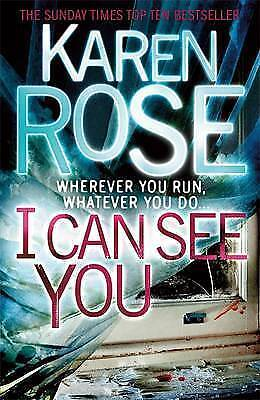 """""""AS NEW"""" I Can See You (The Minneapolis Series Book 1), Rose, Karen, Book"""