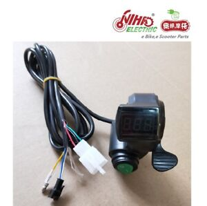 02-Thumb-Throttle-with-LCD-Digital-Battery-Voltage-Display-and-Cruise-e-Bike