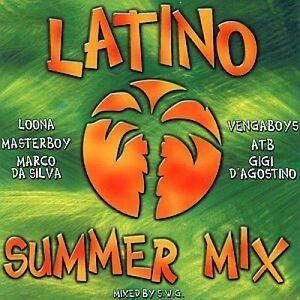 Latino-Summer-Mix-by-S-W-G-2000-Loona-Gigi-D-039-Agostino-Eiffel-65-An-CD