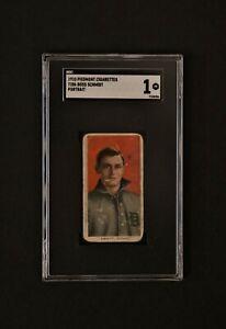 1910 Piedmont T206 Boss Schmidt Portrait SGC 1