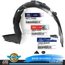 GENUINE Fender Liner FRONT RIGHT for 12-14 Hyundai Veloster Base OEM 868122V000