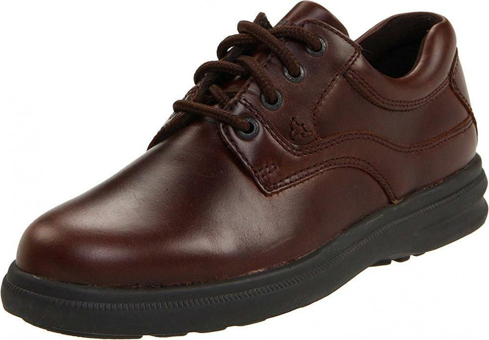 Hush Puppies Men's Glen Oxford Leather Lofers  Comfort Walking Casual Lace Up  vendita scontata