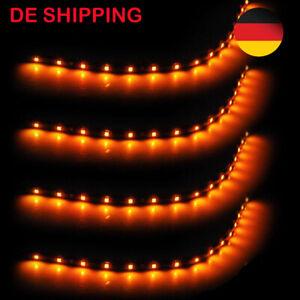 LED Streifen Band Leiste 30cm ; 12V Wasserfest IP65 15LEDs ; Gelb
