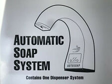 Rubbermaid Commercial One Shot Automatic Foam Soap Dispenser Stock #1938171 TC