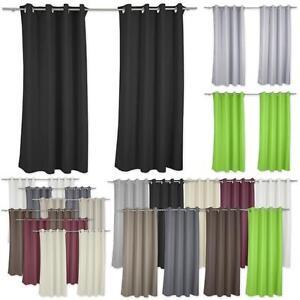 Gardine-Verdunklungsgardine-Blickdicht-Vorhang-Thermogardine-mit-Metalloesen