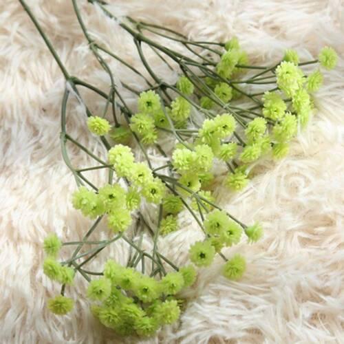 90 Heads Artificial Flowers False Baby/'s Breath Gypsophila Wedding Decoration