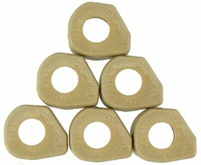 Dr Pulley 13gm 18x14 Sliding Roller Weights for Scooters WITH 150cc GY6 Motors
