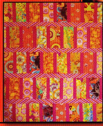 PATTERN Perfect Moment pieced quilt mini PATTERN Villa Rosa Designs