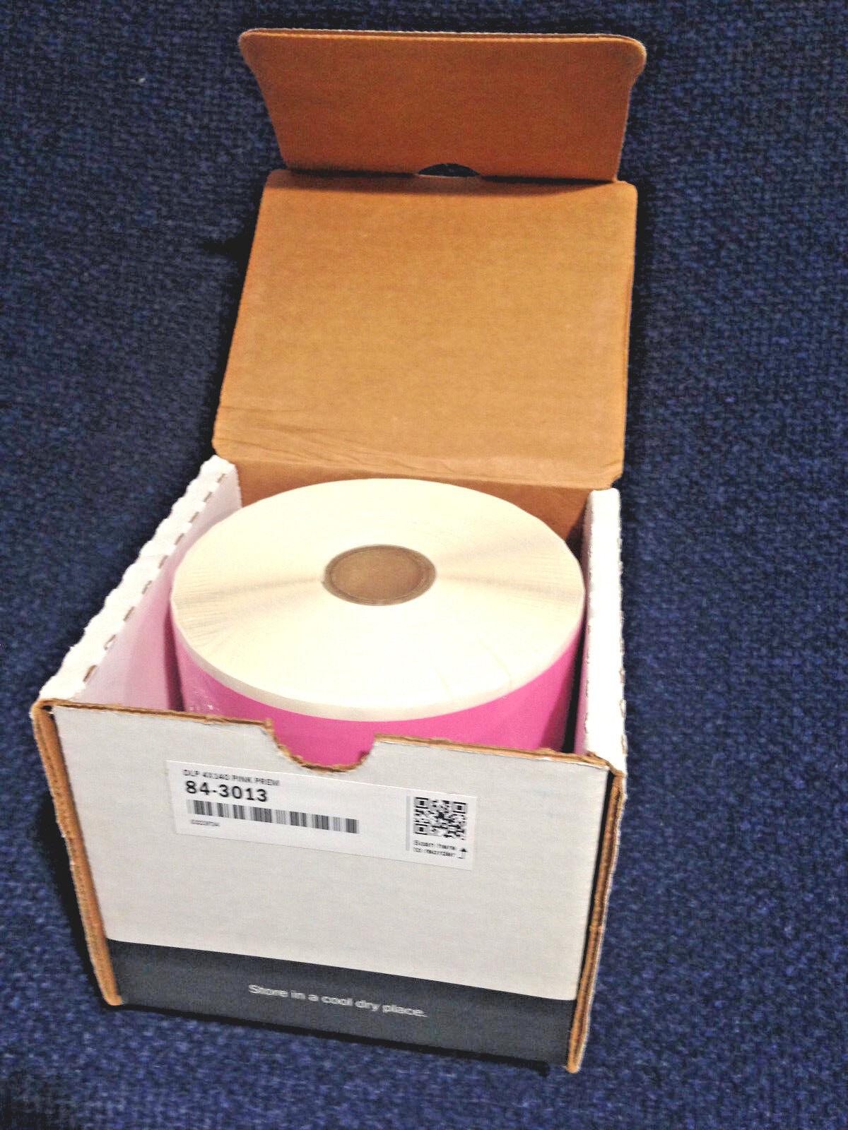 Duralabel 84-3013 Pink Vinyl Tape  DLP 4  x 140'  Premium