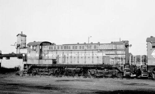 Norfolk Southern NS #1001 Black /& White Print