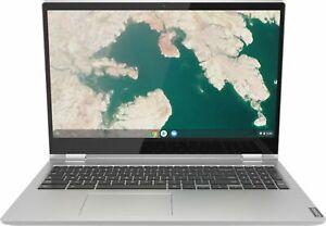 "Lenovo - C340-15 2-in-1 15.6"" Touch-Screen Chromebook - Intel Core i3 - 4GB M..."
