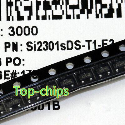 50PCS SI2303 A3SHB 1.4A//30V SOT-23 P-Channel MOSFET SMD Transistor NEW/& original