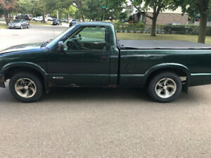 2002 Chevy S10 for sale as is
