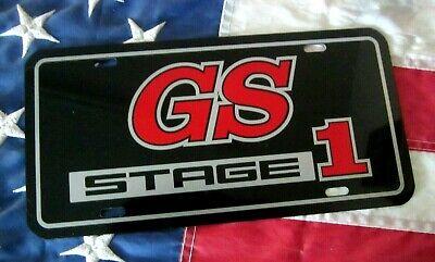 Buick GS license plate car tag 1965 1966 1967 1968 1969 1970 1971 Gran Sport