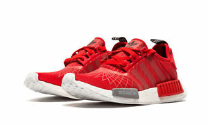 the best attitude a0683 06466 Image is loading Adidas-NMD-R1-runner-w-Lush-Red-S79385-