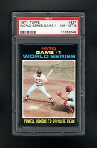 1971-TOPPS-327-WS-GAME-1-POWELL-HOMERS-TO-OPPOSOTE-FIELD-PSA-8-NM-MT-CENTERED