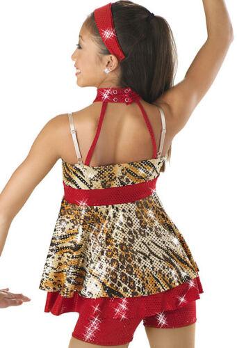 NEW Weissman Dance Costume Skate Dress Jazz Tap Twirl 6070 Child Adult