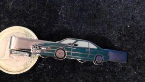 BMW 850i Auto Krawattenklamm<wbr/>er Krawattenhalte<wbr/>r Geldschein Tie Clip grün Kroll Vo