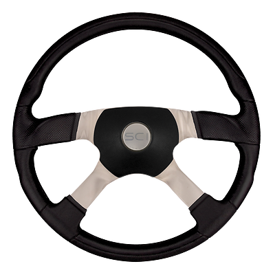All Models Black Luxury 5-Hole Hub Kit for Navistar-International Fixed