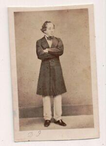 Vintage-CDV-Benjamin-Disraeli-1st-Earl-of-Beaconsfield-British-Prime-Minister