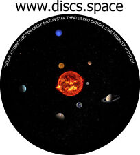 """solar System"" Disc for Uncle Milton Star Theater Pro Home Planetarium"