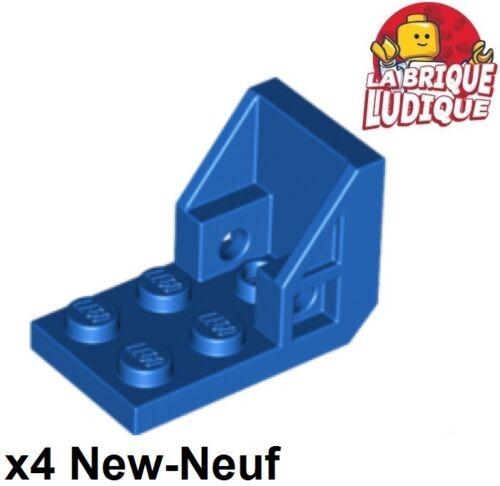 Baukästen & Konstruktion 4x Klemme 3x2-2x2 Jahrhundert Stuhl Mars space Sitz blau/blau 4598 neu Lego